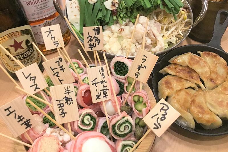 博多・串 ヒロシチャン 料理の写真